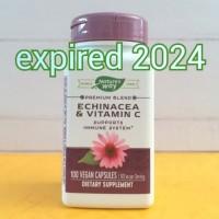 Nature's way echinacea vitamin c vit c 492mg 492 mg 100 caps