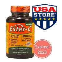 ESTER C 1000 MG CITRUS BIOFLAVONOIDS 180 TABLETS VITAMIN VIT 1000MG