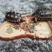 Feeding Dish XL Kura kura / Tempat Wadah makan Reptil