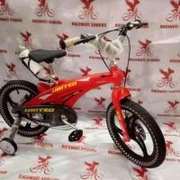 HOT SALE Sepeda anak 16 bmx united aero doble cakram frame:magnesium