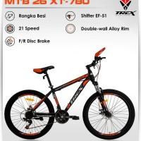 HOT SALE Sepeda Gunung MTB 26 TREX XT 780 21Speed TERJAMIN