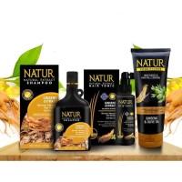 Natur Cegah Rontok Ginseng 3 in 1 (Shampoo+Tonik+Conditioner)