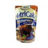 TERLARIS NUTRICAKE NUTRI CAKE BROWNIES TANPA MIXER RASA COKLAT KEJU