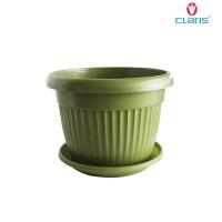 Limit edition Claris Pot Plastik + Tatakan Florence 5835 Green Murah