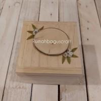 Promo Kotak Cincin Rustic Lamaran Nikah Bestseller