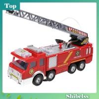 Mainan Mobil Pemadam Kebakaran Elektrik dengan Semprotan Air untuk