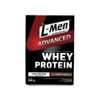 L-Men Advanced Choco Vanilla 500gr Lmen Advance Susu Whey Protein Isol