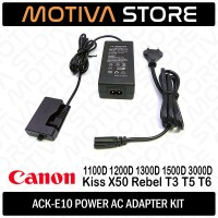 LP-E10 LPE10 AC POWER ADAPTER KIT Canon 1100D 1200D 1300D 1500D 3