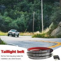 Lampu LED Strip 3 Baris untuk Sinyal Mundur / DRL / Rem Belakang