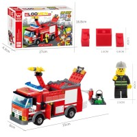 Mainan Edukasi DIY Berupa untuk Membangun Mobil Pemadam Kebakaran