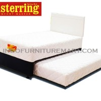 Spring Bed Tempat Tidur Musterring Vienna 2in1 Putih HB Chicago 90 Set