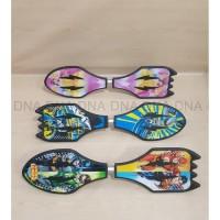 Premium Snakeboard / Waveboard / Skateboard Goyang - DC Justice League
