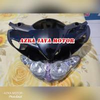 batok Depan Belakang Yamaha Jupiter Z Burung hantu hitam + reflektor
