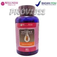 Wellness Natural Vitamin E 400iu Water Soluble (60 Softgels) - 1d50