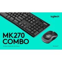 LOGITECH Wireless Desktop MK270R Mouse Keyboard