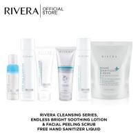 Rivera Paket Basic Cleanser Free Rivera Hand Sanitizer Liquid 300ml