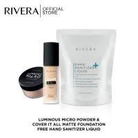 Rivera Paket Base Makeup Free Rivera Hand Sanitizer Liquid 300ml