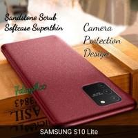 CASE SAMSUNG S10 Lite SANDSTONE SCRUB SOFTCASE SILIKON CASE SUPERTHIN