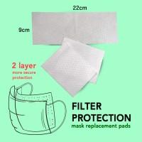 Filter Masker Dewasa Untuk semua Masker Kain isi 12 pcs