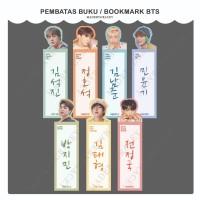 [PO] Pembatas Buku BTS Bookmark BTS Jin RM Suga JHope Jimin V Jungkook