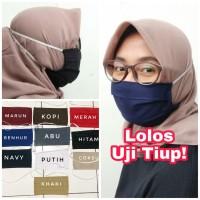 Masker Hijab Kain Tali Karet Espero American Drill TR