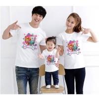 Kaos Baju Tshirt Couple Family Paw Patrol