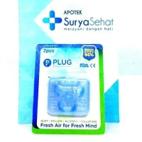 Plug Nasal Filter isi 2 pack - Penyaring hidung