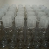 Botol Plastik PET 100 ml Press Top 20 pcs