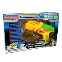 Mainan Anak Pistol Soft Bullet Blaster Shooter Fires Nerf Gun Darts
