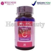 Wellness Excell - C + Betaglucan (30 Tabs) - Menjaga Kesehatan