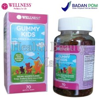 Wellness Gummy Kids (70 Gummies) - Memelihara Kesehatan