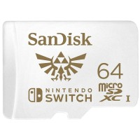 Sandisk MicroSDXC Card U3 For NINTENDO SWITCH - 64GB (4K Ultra HD)