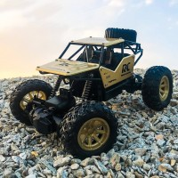 Mobil Remote Kontrol OFF ROAD ALLOY METAL Mainan RC Remot Control 1:18
