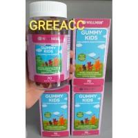 Wellness Gummy Kids Children Multivitamin 70 Gummies ( 60 + 10 )
