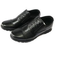 sepatu pantofel Pria Asli kulit sepatu kerja casual