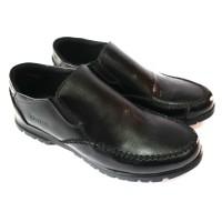 sepatu Pria pantofel casual Asli kulit slip on