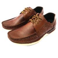 sepatu casual Pria slip on pantofel Asli kulit sneakers