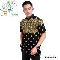 Baju Koko Batik Murah Katun Strech Mix Batik Eksklusif Batik Tuman Sol