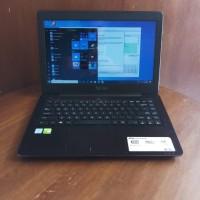 Laptop Asus X456UF Core i5-6200U Vga nvidia 930-2GB Second Fullset