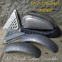paket tangki custom japstyle scrambler bober murah berkualitas