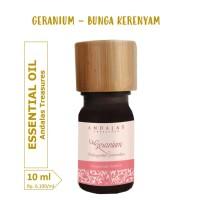 10 ml GERANIUM Essential Oil 100% Minyak Atsiri Kerenyam Esensial