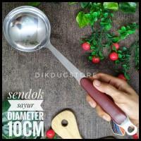 Sendok Sayur - Sendok Kuah - Stainless steel Murah IDEAL 168A20
