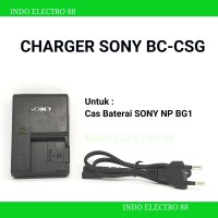 CHARGER SONY BC-CSG FOR BATTERY NP-BG1