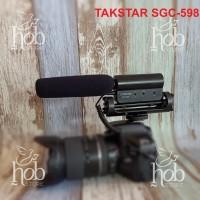 TAKSTAR SGC-598 Mic Kamera Wawancara, Interview Microphone Shotgun