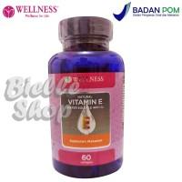 Wellness Natural Vitamin E 400iu Water Soluble (60 Softgels) - c502