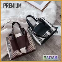 Tas Wanita Premium Shoulder jinjing Bag Tas Bahu Wanita formal Import