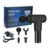 MASSAGE GUN - DEEP TISSUE MUSCLE MASSAGER GUN - ALAT PIJAT GETAR
