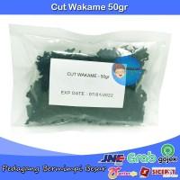 Cut Wakame Share Size 50gr | Dried Seaweed | Rumput Laut Kering