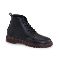 AEMSIXE 0503 - Sepatu Boots Outdoors Wanita Docmart Funk Comfort Black