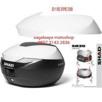 Cover Box SHAD 39 Warna Putih D1B39E08 motor pcx xmax scoopy lexi dll